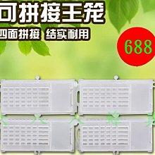 【688蜂具】拼接式王籠 運輸王籠 儲物王籠 囚王籠 現貨 意蜂 中蜂 洋蜂 土蜂 關王 野蜂 養蜂工具 保護罩