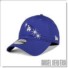 【ANGEL NEW ERA】NEW ERA MLB LA 洛杉磯 道奇 閃光 寶藍色 軟版 老帽 9FORTY