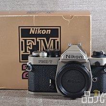 【品光攝影】Nikon FM2/T Body 單機身 經典機械式底片機 鈦版 FM2 FM2T #84331T