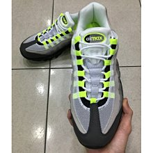 Nike Air Max 95 OG NEON  灰 銀光綠 3M 男 554970-071 休閒 潮流 慢跑鞋