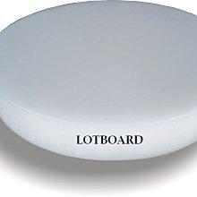 LOTBOARD大師傅-NSF認證營業用白色圓形砧板(一體實心)45*6 cm(R-215W)