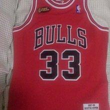 NBA M&N Scottie Pippen Chicago Bulls 球衣 Mitchell & Ness