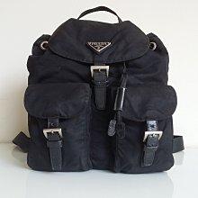 PRADA  經典款  LOGO  三角鐵牌  後背包,保證真品   超級特價便宜賣