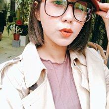 jolly jolly boutique唐葳正韓琥珀咖啡眼鏡oshare妍紓近視眼鏡apm