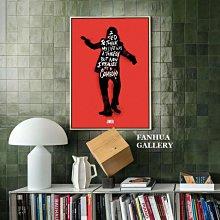 C - R - A - Z - Y - T - O - W - N 小丑joker電影名言掛畫美式藝術工作室裝飾畫店面禮品書房版畫個性創意禮物 掛畫print