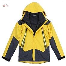 兒童外套 防潑水沖鋒衣外套 登山滑雪服 兩件套 保暖 防寒服 防風雨 露營服