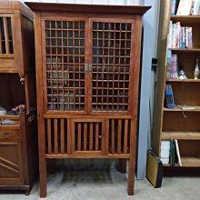 *阿柱的店*懷舊 檜木櫥 玻璃櫃 置物櫃 書櫃