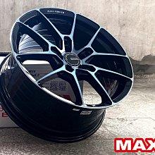 小李輪胎 MAXX M25 18吋5孔108 旋壓鋁圈 福特 FOCUS VOLVO Jaguar 5孔108車系適用