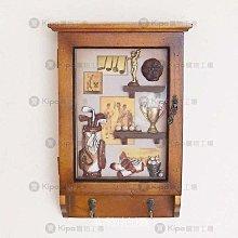 KIPO-北歐原木-高爾夫冠軍鑰匙櫃盒鑰匙櫃/壁掛鄉村風鑰匙盒/鑰匙箱/NCA001001A