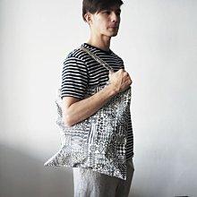 MH日本雜貨 防撥水 磁釦式 小山丘 / 圖騰 購物袋 肩背包 提袋 購物袋