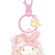 美樂蒂造型悠遊卡 2020 花環款附鑰匙圈 全新空卡 三麗鷗 Sanrio 台灣限定 My Melody