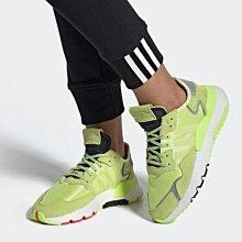 Adidas NITE JOGGER W  經典 耐磨 防滑 潮流 低幫 綠色 休閒 運動 慢跑鞋 EE5911 女鞋