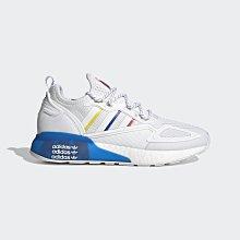 限時特價 南◇2021 6月 ADIDAS ZX 2K BOOST 經典鞋 FY1375 白藍黃紅 慢跑鞋 BOOST