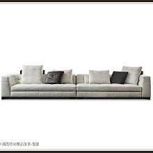 DD 國際時尚精品傢俱-燈飾Minotti Blazer(復刻版)一字布沙發2020新品