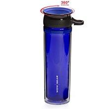美國 WOW GEAR 360°  Tritan運動水壺 不漏水設計 不含BPA