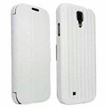 平廣 iLuv 三星 Samsung GALAXY S4 Bolster 皮套 白色 皮套 手機殼 背蓋 側立 側翻