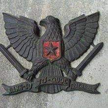 越戰---美軍銅牌--紀念牌-大---厚重