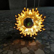 60s explode !台中 Under Object 古道具  太空 壁燈 經典 . Wall-Mounted Li