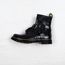 Dr. Martens 1460 8孔 馬蹄扣帶 黑色 硬皮 短筒 馬汀靴 男女鞋