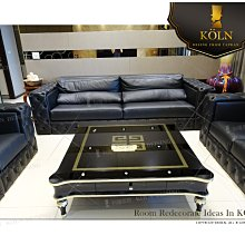 爵品訂製沙發 NC-S3-124複刻歐式拉扣牛皮沙發、布藝沙發、客制化、可訂制尺寸選皮料、布料、訂制工廠《專屬客制家俱》