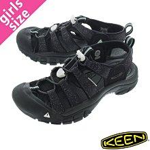 =CodE= KEEN NEWPORT H2 SANDALS 編織彈性綁繩護趾防水包頭涼鞋(灰黑) 1023965 女