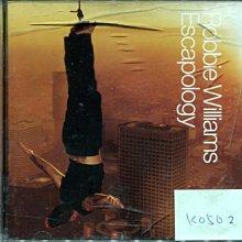 *真音樂* ROBBIE WILLAMS / ESCAPOLOGY 歐版 二手 K0502  (清倉.下標賣3)