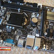 技嘉 GA-H81M-D2V 1150腳位 內建顯示 Intel H81晶片 4組SATA3 2組DDR3 2組USB3