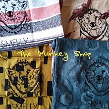 【 The Monkey Shop 】日本限定 全新正品 urban research smelly 米色羽毛圖 購物袋