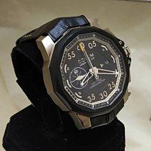 順利當舖 Corum/崑崙 新款48MM特大錶徑鈦金屬多角形海軍上將男仕帥氣計時錶款