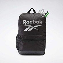 「i」【現貨】Reebok 黑 水壺袋 基本 後背包 肩背包 書包 運動背包 旅行背包 FL5176