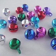 【綺妹手創雜貨】串珠配件 日本電鍍鈴鐺 12mm 彩色鈴噹 『串珠材料類』