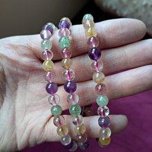 天然原礦 手珠 串珠 手鍊多寶水晶
