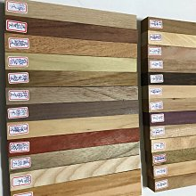 ?️世界各國26種木材?️樣品或筆料?️木材名稱請看圖片尺寸:20×2.1×2.1公分