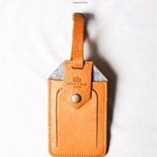 點子包 iclea X bag │進口皮革行李吊牌 行李掛牌 托運牌 可客製刻字 DG11