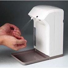《現貨》台灣製保固桌上壁掛兩用紅外線自動感應手指手部噴霧消毒機消毒器酒精噴霧機