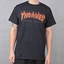 【HYDRA】Thrasher Flame Halftone S/S Tee 街頭 火焰 點陣圖 滑板 短T【TS39】