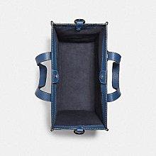 【小怡代購】 全新 COACH 89143 藍色馬車老花帆布 FIELD TOTE 小款拖特包 公事包 公文包 超低直購