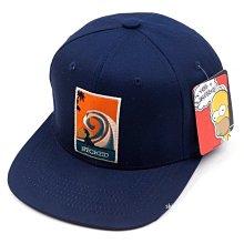 烽火運動韓國正品代購WAYWARD SIMPSON 男女同款3色平沿帽辛普森卡通帽子
