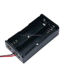 【UCI電子】 (17-6) 18650電池盒 2節電池盒 充電座 18650電池盒帶線
