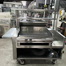 達慶餐飲設備 八里展示倉庫 二手商品 煎台餐車