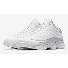老夫子 Air Jordan 13 Low Pure Platinum(310810-100) 潮流時尚慢跑運動鞋男女