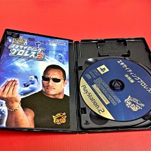㊣大和魂電玩㊣ PS2 WWE 激爆職業摔角3 {日版}編號:R2-懷舊遊戲~PS二代主機適用