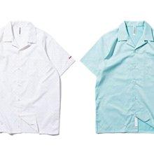 { POISON } DeMarcoLab SUMMER LTR S/S SHIRT 滿版圖騰 清爽色調 純棉短袖襯衫