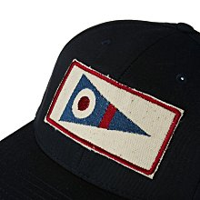 「i」【預購】Mollusk 美國 Pennant Patch 深藍 可調節 貼布 棒球帽 老帽 復古 美式風格