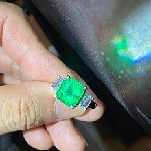 【台北周先生】Insignificant 幾乎無油 天然祖母綠 4.74克拉 VVS 哥倫比亞產 PT900鑽戒送GRS