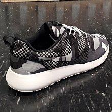 NIKE ROSHE ONE RUN 黑色 白色 灰色 迷彩 點點 655206-100 慢跑鞋 情侶款 女段少量進貨