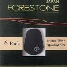 ♪ 后里薩克斯風玩家館 ♫『日本 forestone 薩克斯風 豎笛 吹嘴墊片』6片裝 / 靜電弱膠