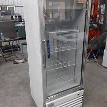 達慶餐飲設備 八里展示倉庫 二手商品 單門展示玻璃冰箱