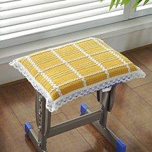 奇奇店#日式純色棉線學生宿舍椅子墊加厚坐墊板凳墊家用護臀屁股餐椅墊#規格不同價格不同