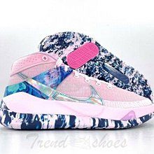 Nike KD 13 Aunt Pearl 經典 復古 厚底 粉色 藍色 鐳射 運動 慢跑鞋 DC0011-600 男鞋